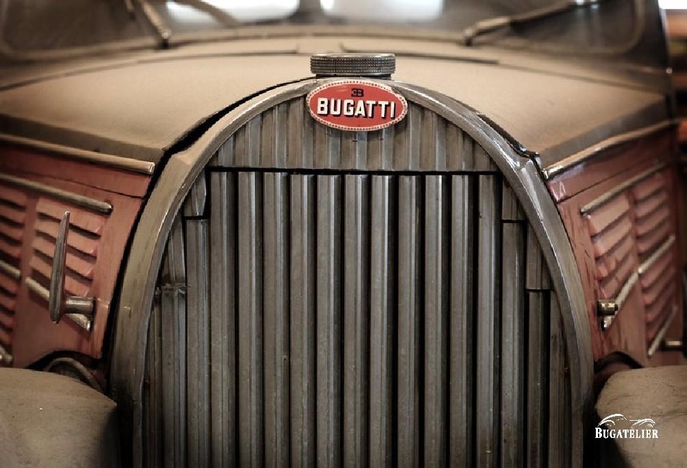 Radiateur Bugatti Type 57