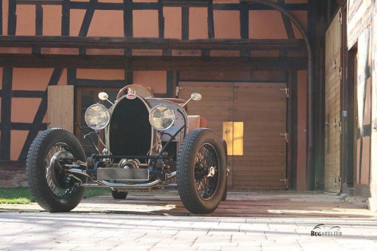 Bugatti type 44 1928 chassis roulant