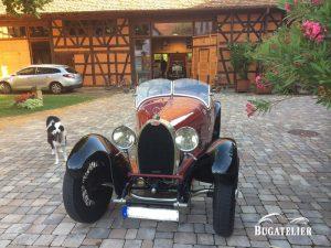 Bugatti type 38  1927 ( carrosserie Lavocat et Marsot )