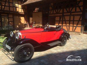 Bugatti  Type 40  roadster 1930