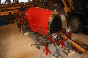 Bugatti type 13 Brescia rouge