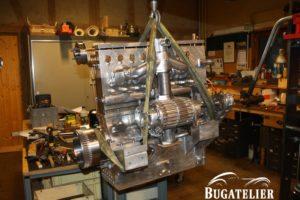 Moteur Bugatti type 35 B